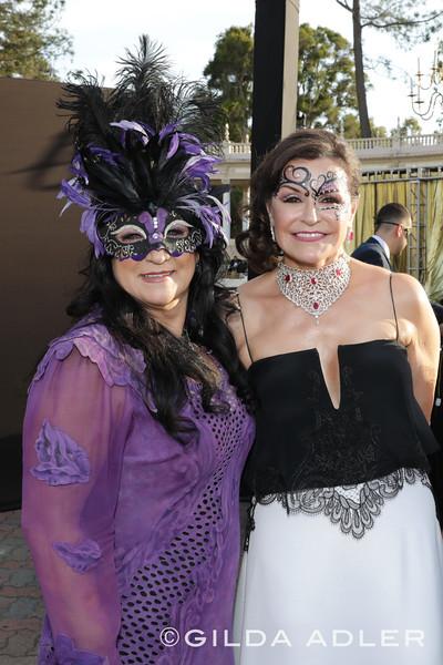 Teresa Castiglione and Arlene Esgate