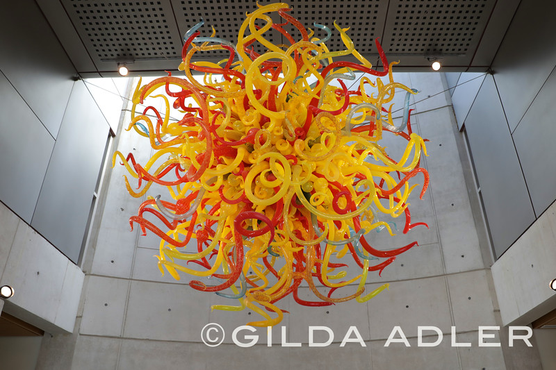 THE SUN BY DALE CHIHULY