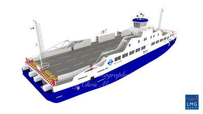 Early artist impression of the new boat