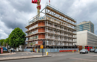 July 20th 2019 .. Royal Sovereign house, on Beresford street, being converted from offices to Apartments