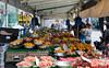 June 5th 2014 . Alcorns market stall