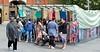 June 8th 2015 . Beresford square market stall