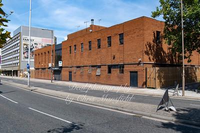 Aug' 29th 2019.  Derelict Woolwich catholic club on Beresford street