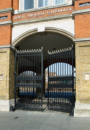 March 12th 2012. Arsenal gates