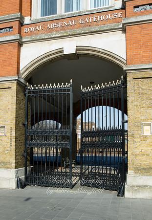 March 12th 2012. Arsenal gates