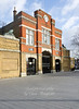 Jan' 5th 2012.  Arsenal gates, beresford square