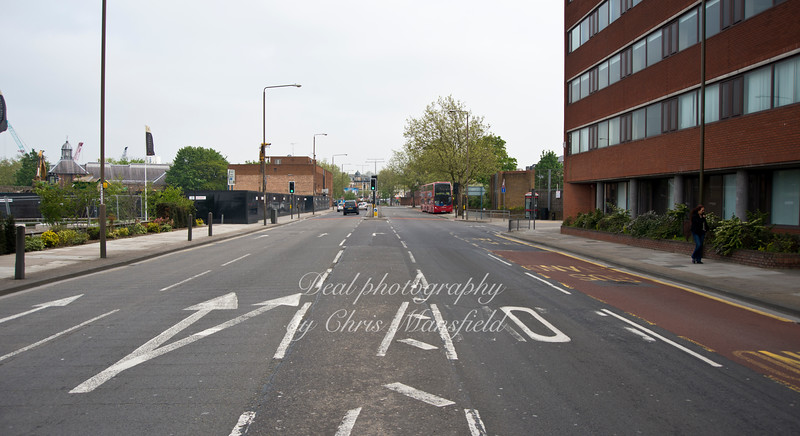 May 21st 2012.  Beresford street , looking towards market