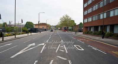 May 21st 2012.  Beresford street , looking towards market