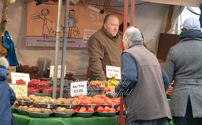 Nov' 24th 2018 Beresford sq' fruit stall