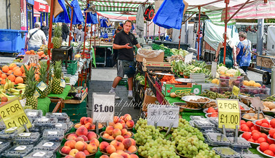 May 25th 2019 Pete Alcorn's fruit stall