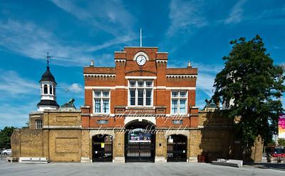 June 30th 2013...Royal Arsenal Gatehouse