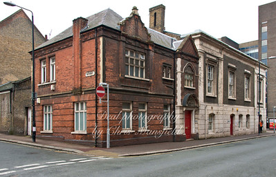 Jan' 8th 2014 . Old county court building in Plytechnic street