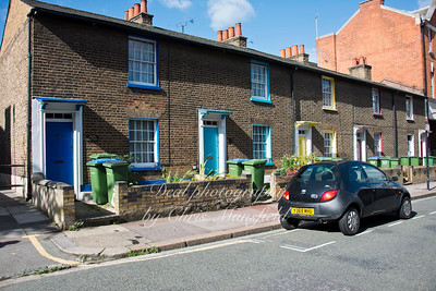 Sept' 16th 2013.. 19th century Cottages in Market street