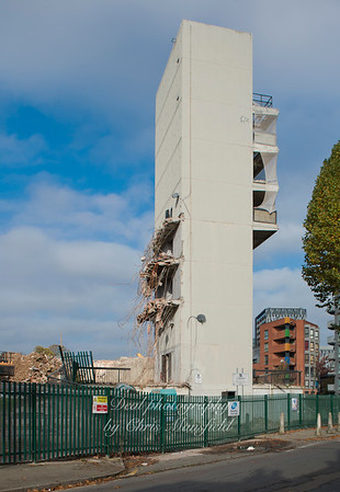 Oct 26th 2015. Connaught demolition