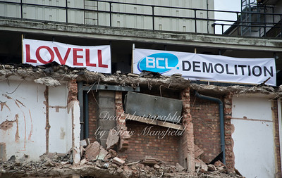 Nov' 10th 2015 Connaught demolition