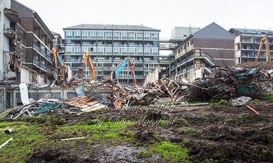 Jan' 6th 2016.  Connaught demolition