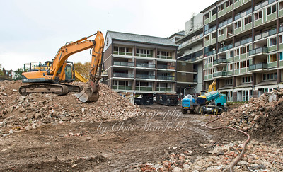 Oct' 30th 2015.  Connaught demolition