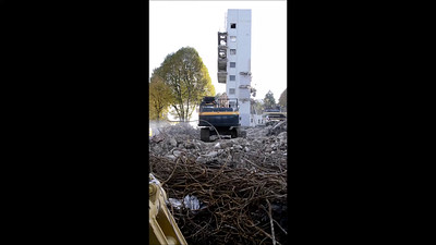 Oct 27th 2015.  Short clip of Parker house remains