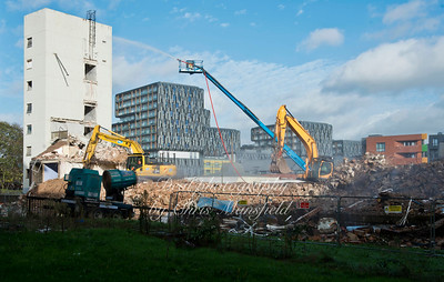 Nov' 18th 2015 Connaught demolition