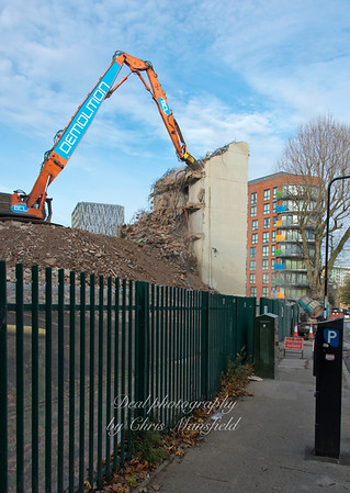 Nov' 23rd 2015. Connaught demolition