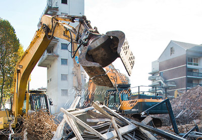 Oct' 27th 2015.  Connaught demolition