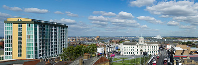 Sept' 14th 2011.  View from the roof of Crown buildings