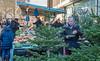 Dec' 16th 2917. Alcorn's stall in Greens end