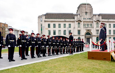 Oct 8th 2011.  2nd batallion Prince of wales royal regiment