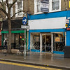 March 17th 2015 . New cycle repair shop in Hare street