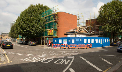 September 10th 2014.  Lidl under renovation,