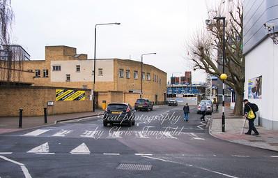 Feb' 15th 2017.  Creton street looking towards Callis yard redevelopment