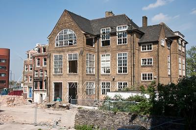 April 11th 2011.  Demolition of old Union street school