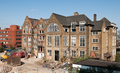 March 21st 2011.. Union street school demolition.