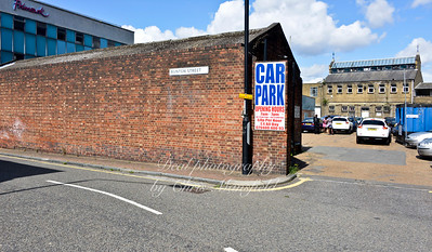 August 11th 2014 . Callis yard and Bunton street