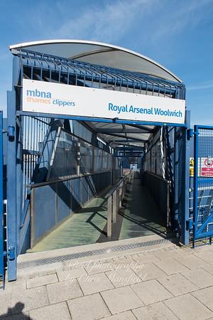 Oct' 3rd 2016.  Royal arsenal pier