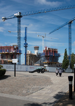 Aug' 31st 2016.  New apartments going up on Number 1 street