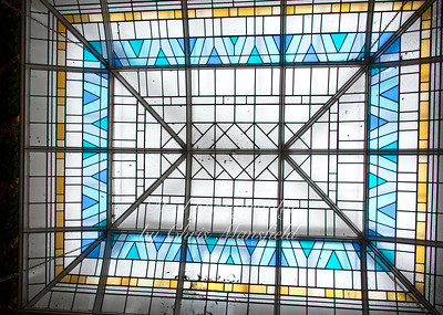 Roof window in the main courtroom
