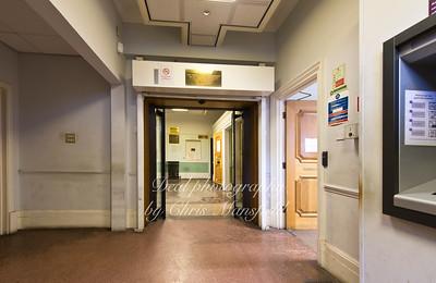 Magistrates court interior