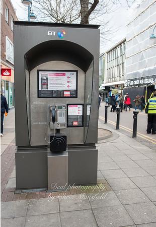 Feb' 25th 2016  Powis street phone kiosk