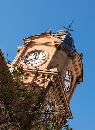 Nov' 25th 2017.  Old Co oP clock tower .
