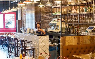 August 6th 2016, Interior of Clockjack restaurant