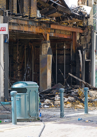 Aug 9th 2011..  Powis street after the riots