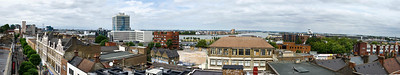 Woolwich rooftop panorama