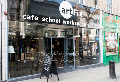 March 27th 2017.  New shop, ArtFix,  opens today at 51 Powis street