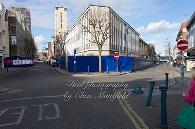 Feb 21st 2012.. Powis street at Hare st junction