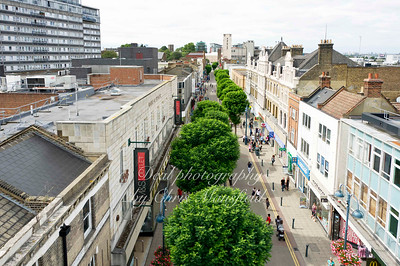August 13th 2011.. Elevated view of Powis street