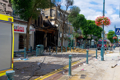 August 9th 2011.. Powis street the day after