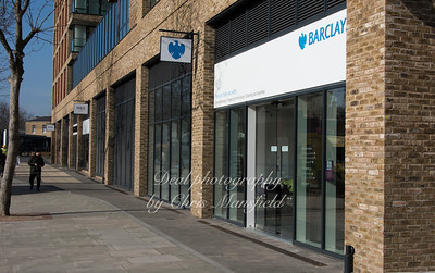Feb' 13th 2017.  New Barclays opens today on Plumstead road