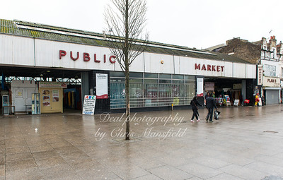 Jan 2nd 2016.  Covered market, Plumstead road