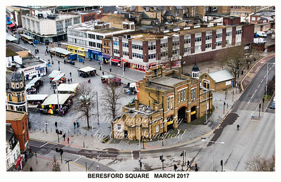March 3rd 2017.  Postcard style Beresford square